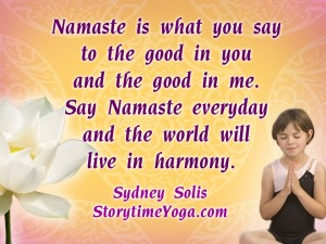Namaste Song Storytime Yoga® for Kids
