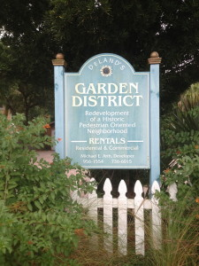 Garden District, DeLand, Florida