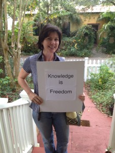 Householder Yogini attends her local school board meeting and defends freedom!
