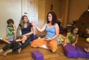 Storytime Yoga for Kids Teacher Training Golden