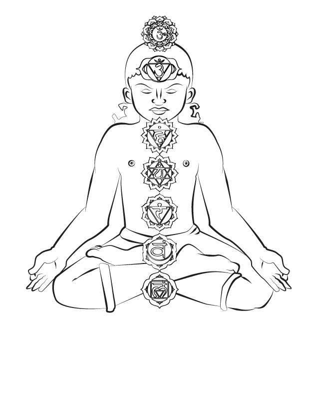 Yoga coloring pages for adults coloring pages for Yoga coloring pages