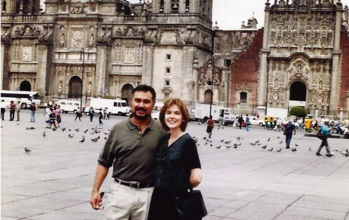Syd and Frank, Mexico City 1997?