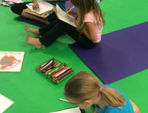 Stories and Kids Yoga for Oral and Literacy Skills
