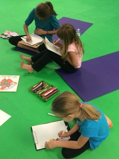 kids yoga and stories for literacy