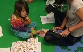 kids yoga and literacy Storytime Yoga