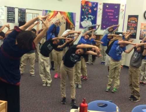 Einstein, Yoga and a Fairy Tale for 4th Graders in Science, Technology, Engineering and Mathematics Magnet School