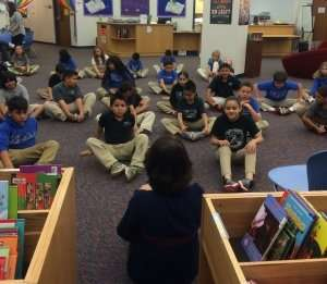 Kids love listening to an oral story in its entirety, which develops concentration and leads them into an embodied trance, pitched out of ordinary time and into a suspension of time and space - yoga! Then they act out the yoga. I taught here at a STEM Launch magnet school in Thornton, Colorado and the kids loved learning with the Storytime Yoga® method of embodied storytelling and the oral traditional! Storytelling and yoga really work!