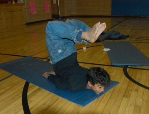 Storytime Yoga® for Kids Photo of the Day: Boys' Favorite Yoga Pose – Salabhasana
