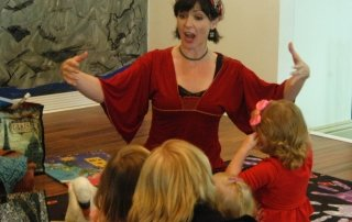 Sydney Solis storytelling and yoga for children
