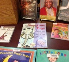 Storytime Yoga for kids in Telluride, Colorado public library