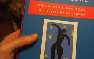 trauma book and yoga