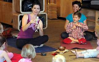 storytelling and yoga for kids