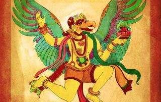 Storytime Yoga for kids Garuda1