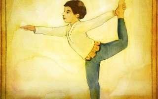 natarajasana storytime Yoga for kids Mythic Yoga
