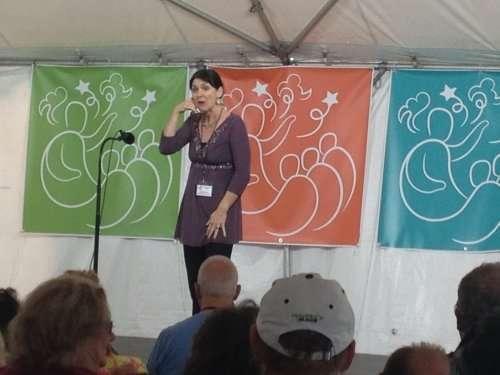 Mythic Yoga Storytelling with Sydney Solis Florida Storytelling Festival 2016