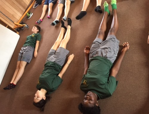 Yoga for Teens: Teaching Yoga to AFJROTC at DeLand, Florida High School