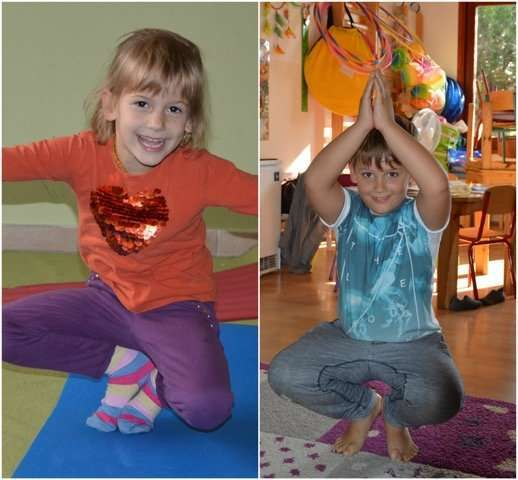 Storytime Yoga in Hungary with Lilla Linkes