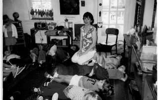 Storytime Yoga® at Montessori School of Golden, Colorado in December, 2004 where Storytime Yoga® was born.