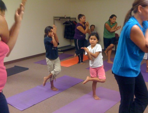 Storytime Yoga® for Kids Photo of the Day: Seva at Pine Ridge Reservation