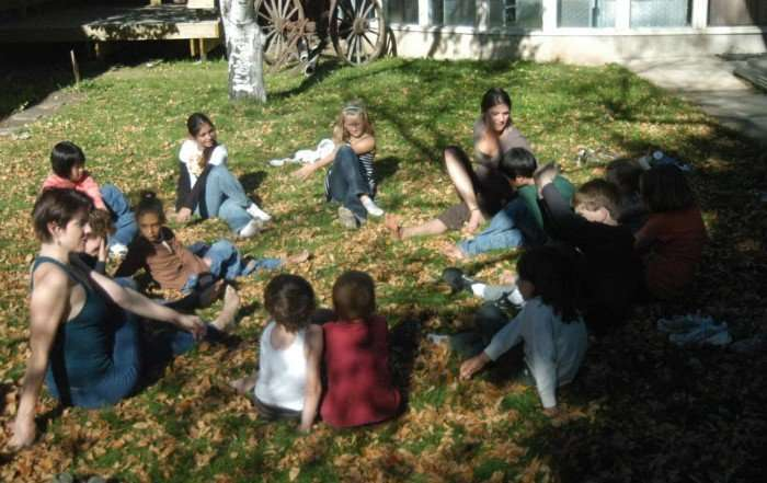 Storytime Yoga for kids Boulder Colorado