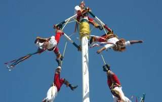 Mexican flying pole dancers in Puerto Vallarta, 2010 by Sydney Solis